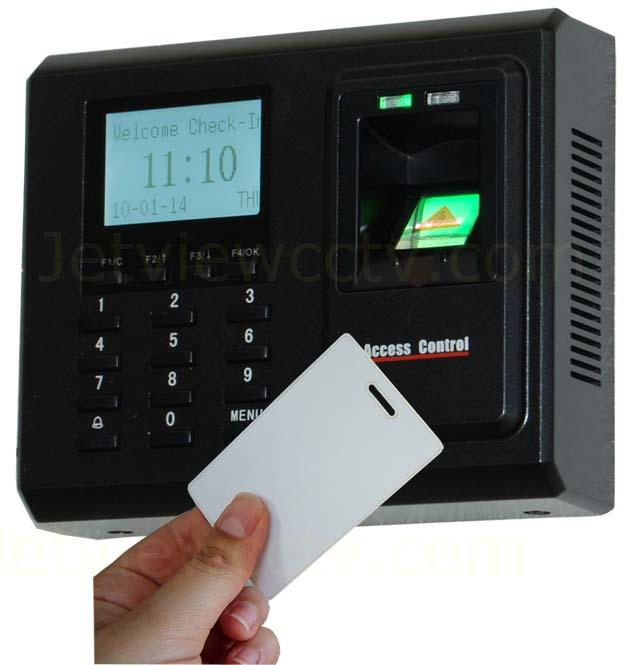 F702-S Fingerprint RFID Time Attendance and Door Access USB -Host