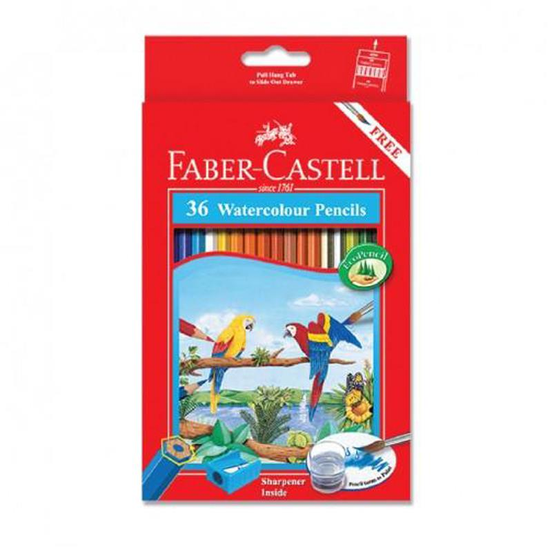 Faber Castell 36L Water Colour Pencil (Long)