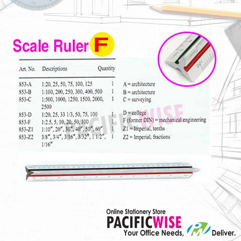 FABER CASTELL 853-F SCALE RULER