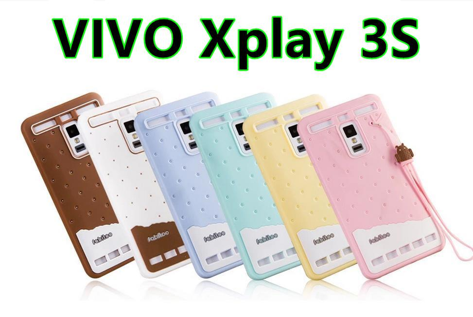 Fabitoo VIVO Xplay 3S ShakeProof Silicone Case Cover Casing +Free Gift