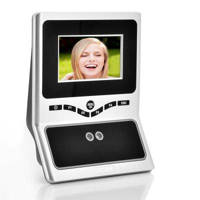 Face Recognition Time Attendance System - 4.5 Inch HVGA TFT Display, 2