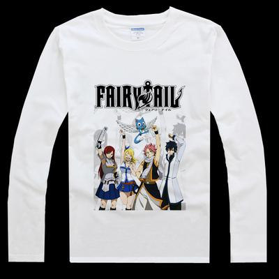 Fairy Tail Guilty Crown Anime Long Sleeve
