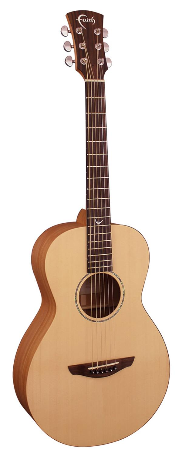 FAITH ACOUSTIC GUITAR FKM NAKED MERCURY WITH HARDCASE