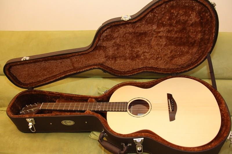 FAITH ACOUSTIC GUITAR FKN NAKED NEPTUNE WITH HARDCASE
