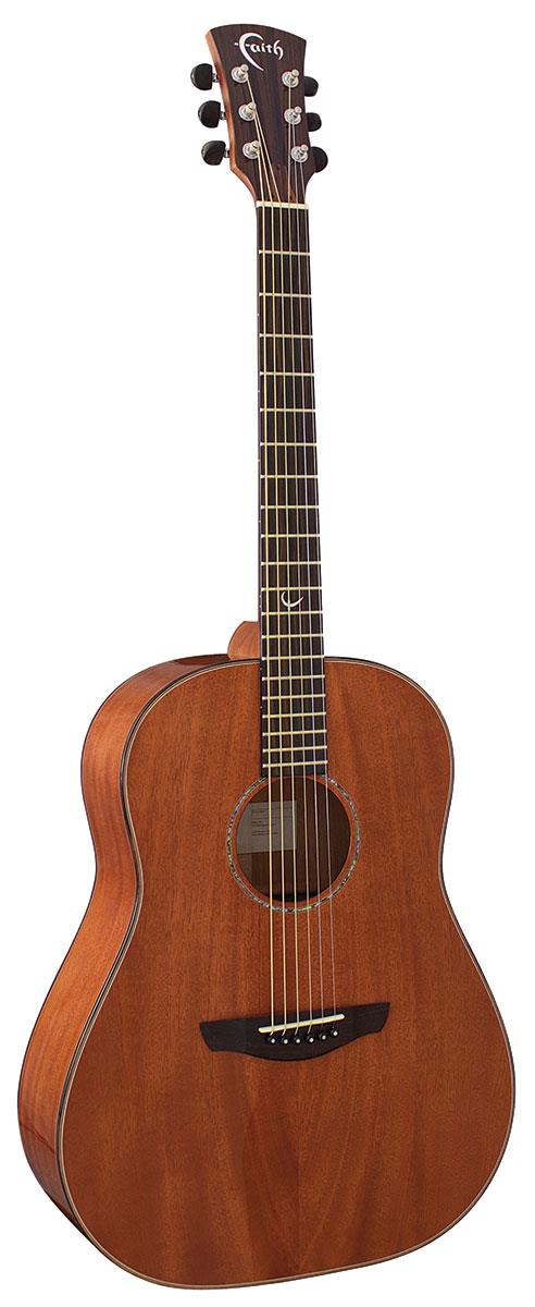 FAITH ACOUSTIC GUITAR FRMG MARS ALL MAHOGANY WITH HARDCASE