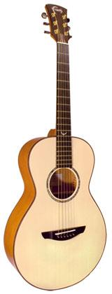 FAITH FM NATURAL MERCURY ACOUSTIC GUITAR WITH HARDCASE