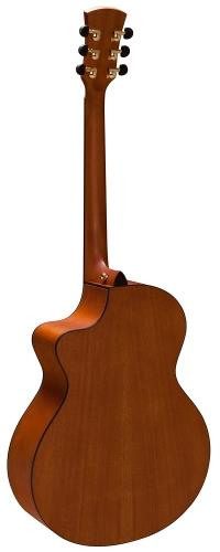 FAITH FNCE NATURAL NEPTUNE C/WAY ELECTRO ACOUSTIC GUITAR WITH HARDCASE