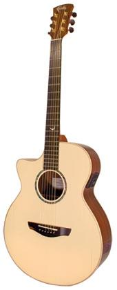 FAITH FVHGL HI-GLOSS VENUS LEFTHANDED ACOUSTIC GUITAR WITH HARDCASE
