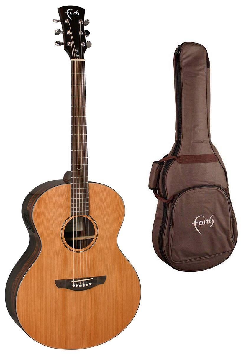 FAITH NEPTUNE ELECTRO GLOSS ACOUSTIC GUITAR WITH FREE BAG (FANECA)