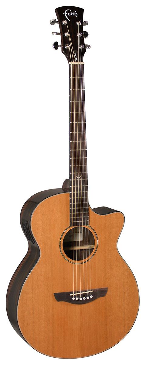 FAITH VENUS ELECTRO CUTAWAY GLOSS ACOUSTIC GUITAR WITH FREE BAG(FAVCA)