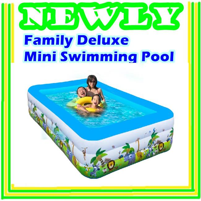family deluxe mini swimming pool set end 5 9 2018 12 15 am. Black Bedroom Furniture Sets. Home Design Ideas