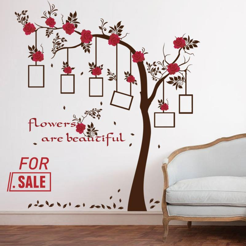 Family Photo Frame Tree Mural Wall Sticker