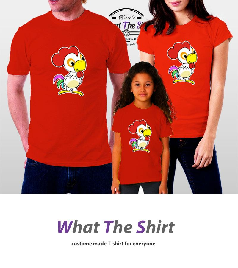 Family Shirt Chinese New Year Tshirt CNY07 4Pcs (Make in Malaysia)