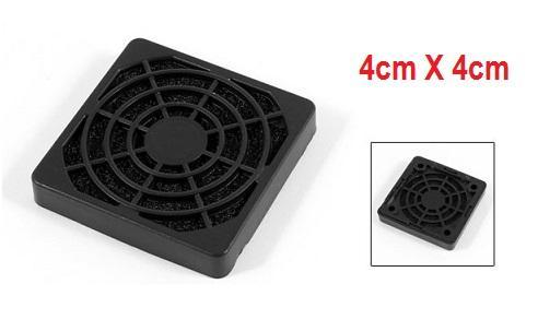 Fan Filter Washable Dust Proof Filter with Sponge 4cm X 4cm