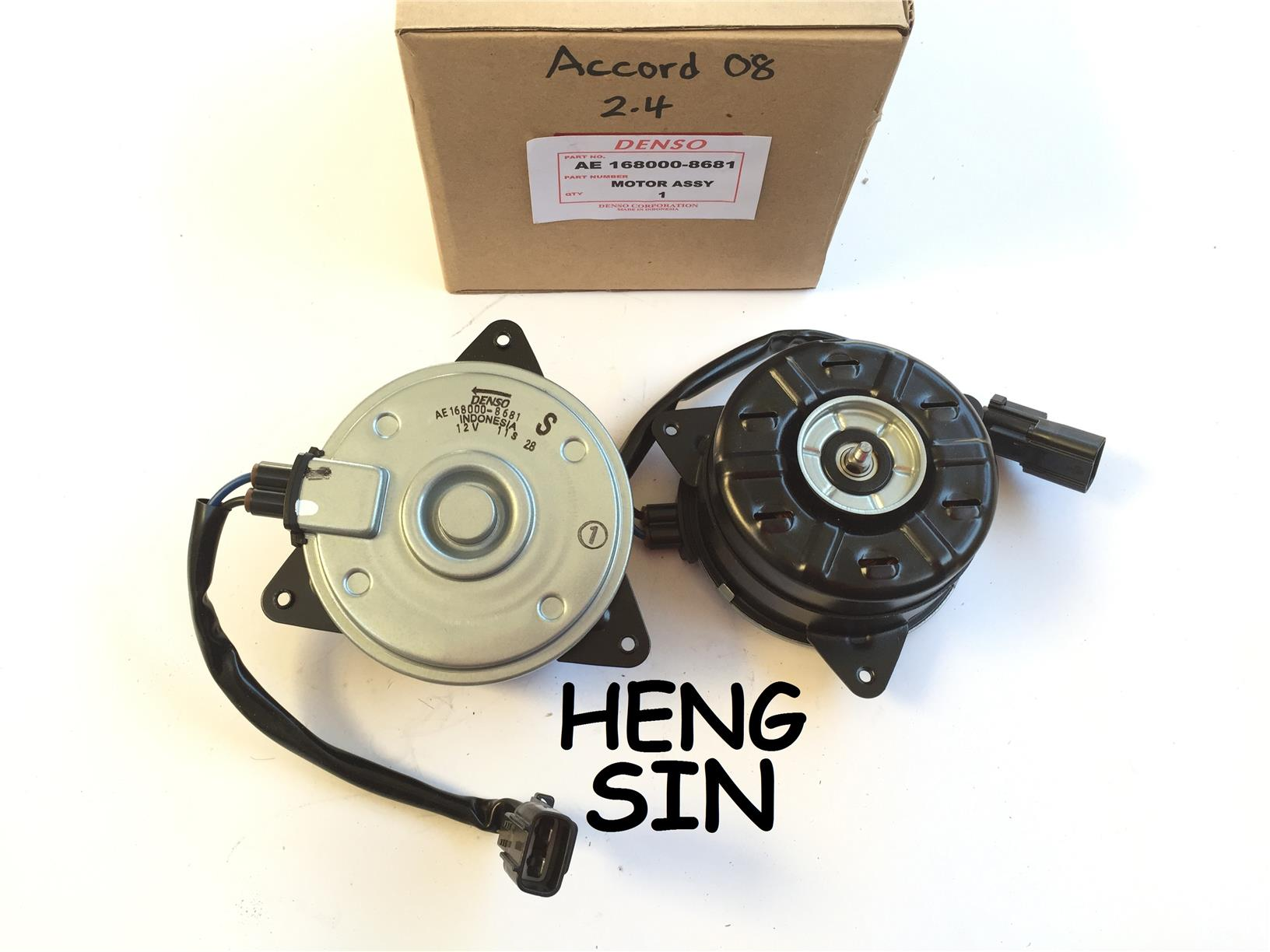 FAN MOTOR HONDA ACCORD 08 2.4 ORIGINAL DENSO