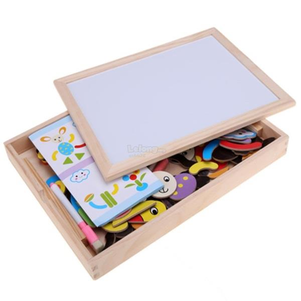 FANTASTIC WOODEN EASEL SUITABLE FOR AGE 1+ YEARS