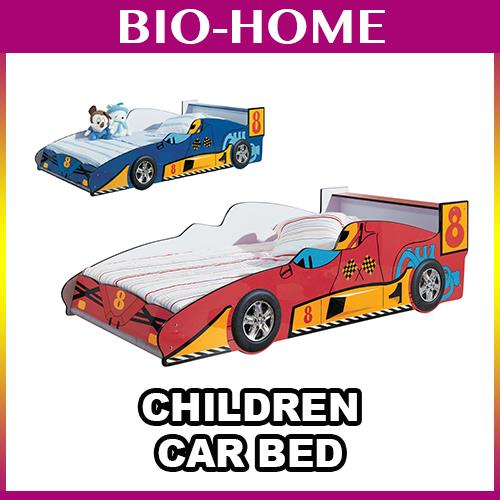Fascinating Children KID CARTOON Car BEDROOM Bed BEDFRAME DESIGN SPORT