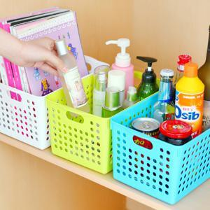 Fashion Desktop Plastic Storage Basket