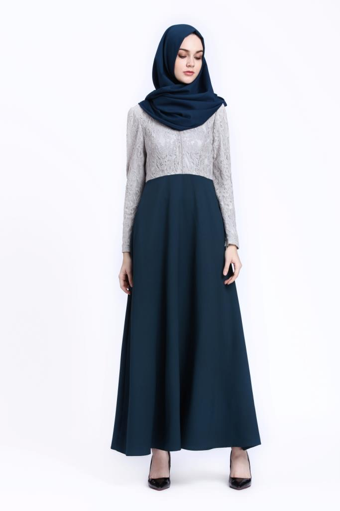 New Fashion Elegant Lace Jubah Dark End 1 23 2018 4 44 Pm