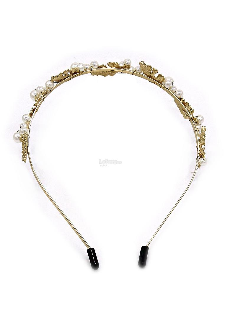 Fashion Hair Accessories: Party Headband Headpiece-Gold