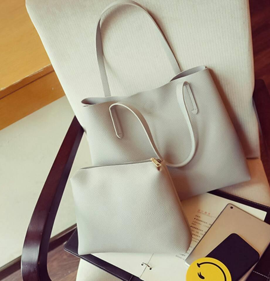 Fashion Handbag (2 in 1) Ready Stock