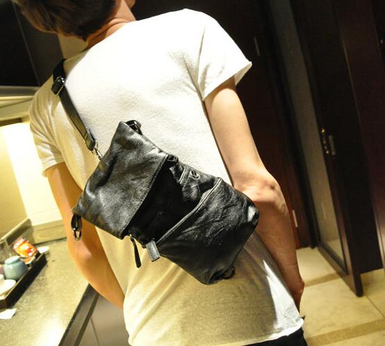 Fashion all-match small chest bag