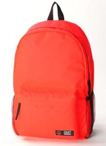 Fashion Nylon Backpack 15480 (Bright Orange)