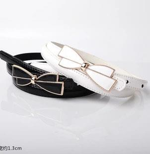 Fashion Ribbon Thin Belt