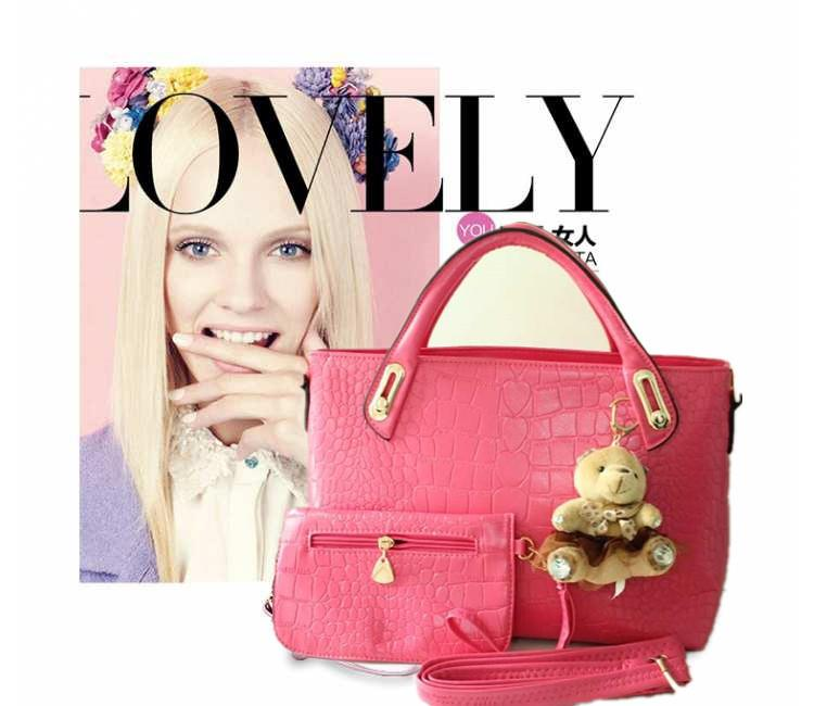 FASHION SHOULDER BAG -BJY2543ROSE