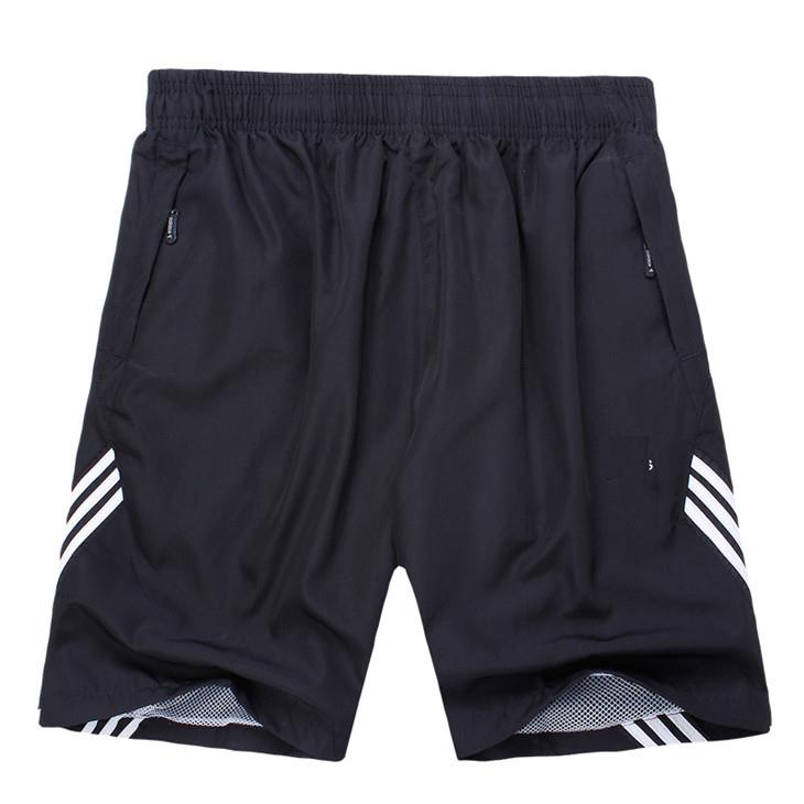 Fashion Stripe Quick-Dry Summer Men's Sports Shorts