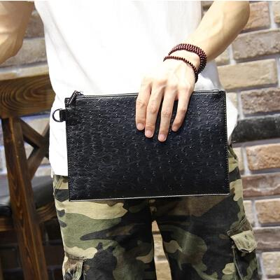Fashion tide male Korean version business large-capacity envelopes bag