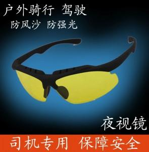 Fashion Unisex Driver Safety Night Vision Glass