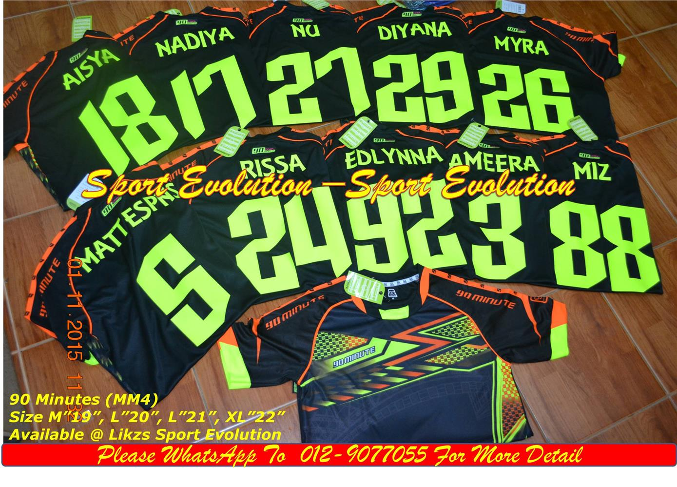 Fast Printing For Jersey (Team Order)