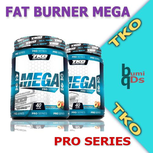 Fat Burner Mega 2.0 Pro  + Shaker , bakar lemak , weight loss , kurus