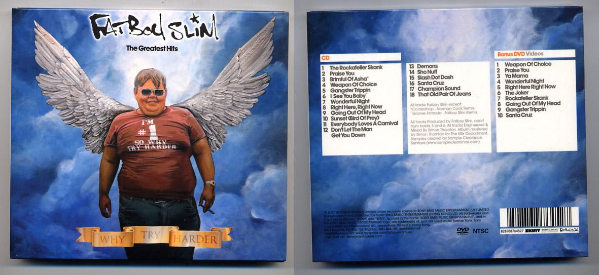 Fatboy Slim 'The Greatest Hits' CD+DVD