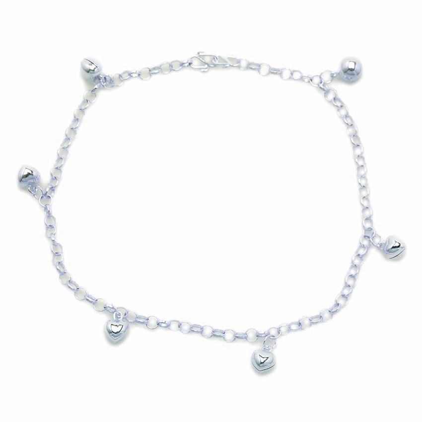 Favourite Malaysian 925 Silver Anklet SA-3M