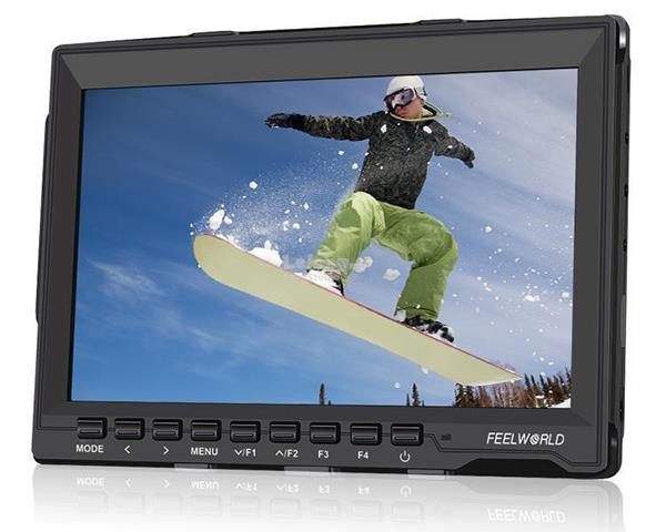 "Feelworld  FW759 7"" IPS Ultra-thin Full HD 1280x800 HDMI Focus Peaking"