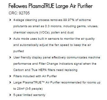 Fellowes AP300PH Air Purifier