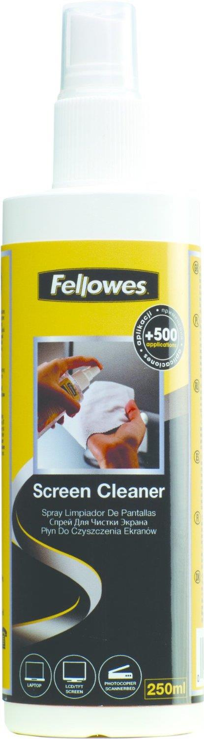 Fellowes Screen Cleaner Pump Spray - 250ml