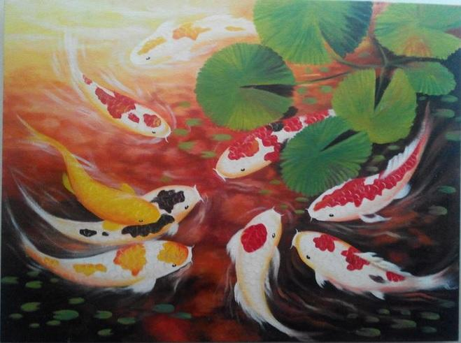 Feng shui japanese koi fish end 2 16 2015 12 02 pm myt for Japanese koi fish painting