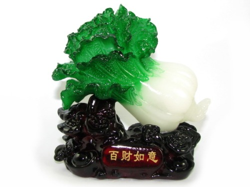 Feng Shui Pak Choy - Good Luck Symbol for Hundred kinds of Luck