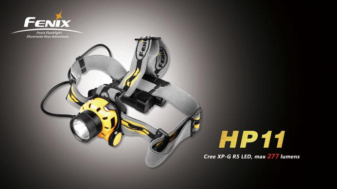 FENIX HP11 High-Intensity Water-Resistant Headlamp (Price Nego)