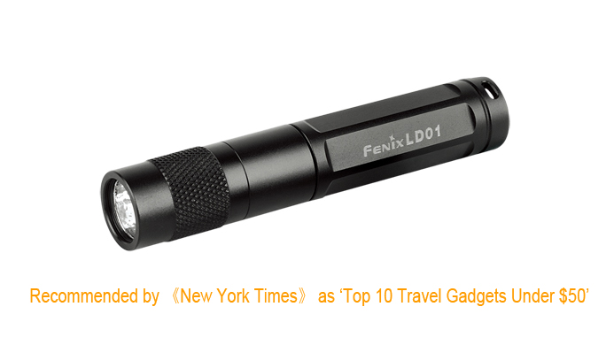 FENIX LD01 CREE XP-E R4 LED FLASHLIGHT ~ USES 1xAAA BATTERY