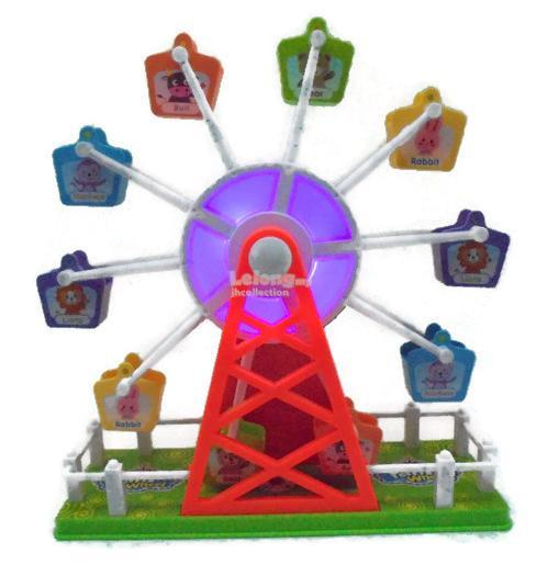 Ferris Wheel Toy ( Funfair Sensor Sound Control Function )