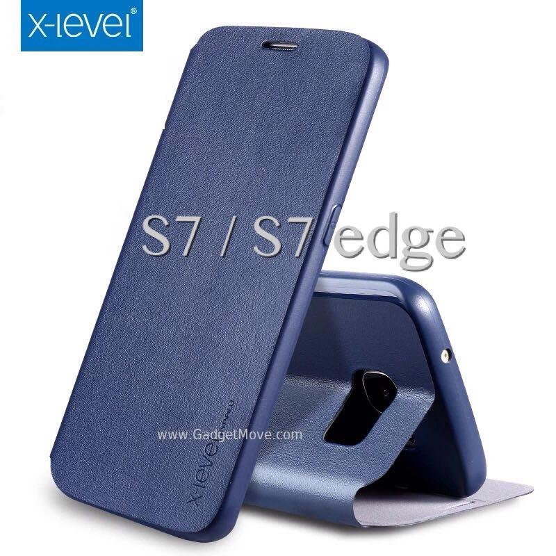 FIB X-Level Galaxy Note 5 S7 Edge A5 A7 2016 Leather Case Flip Cover