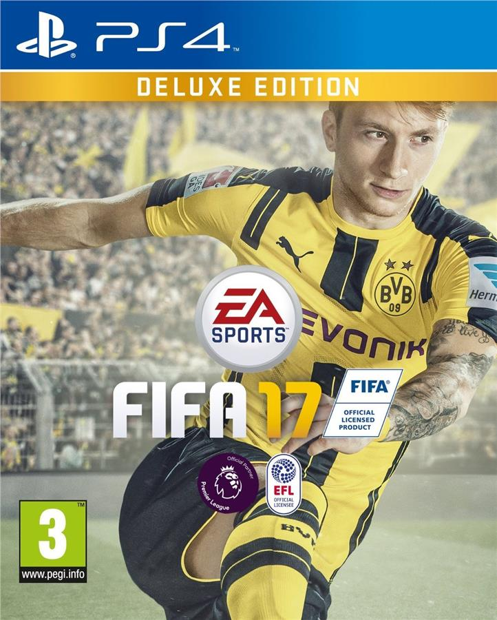 FIFA 17 DELUXE EDITION (PS4/R3/ENG,CHN)