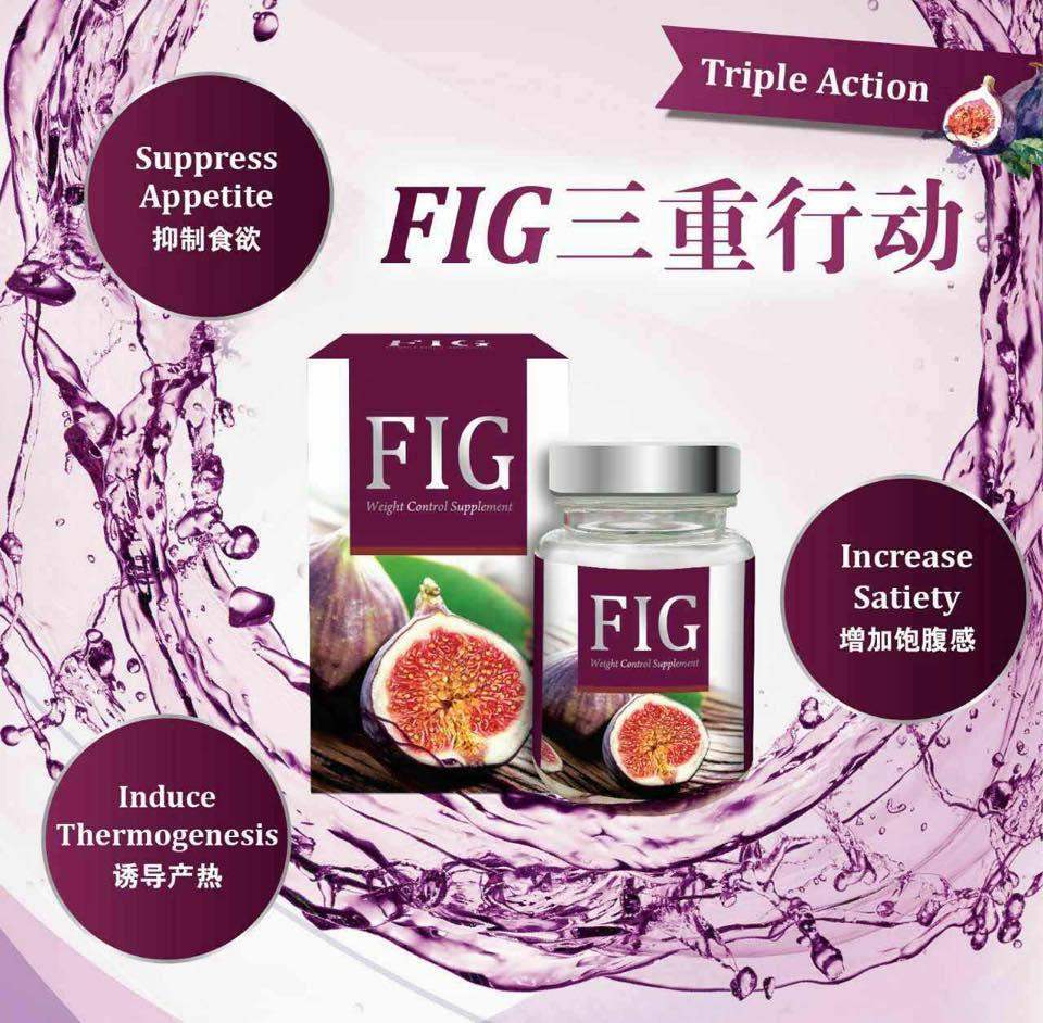 FIG Weight Control Supplement 100% Effective Slimming Result