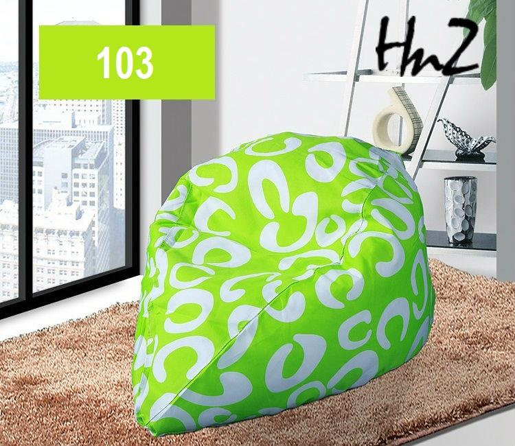 filled up Bean bag chair sofa bed living room seat 103