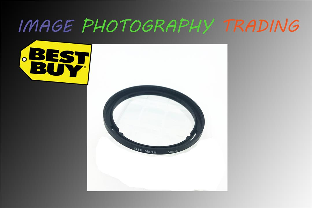 Filter Adapter for Canon PowerShot G1 X Mark II Digital Camera
