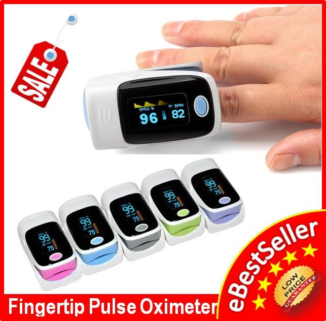 NEW Fingertip Oximeter Finger Pulse Blood SpO2 Pulse Reader HC003